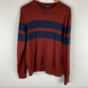 BANANA REPUBLIC Luxury Blend Striped Sweater | L